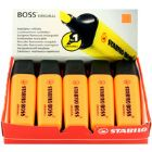 Stabilo Boss Pen Orange 70/54/10 (Pack of 10)